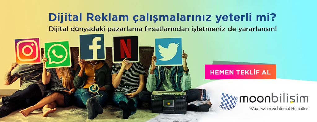 Dijital Reklam Çalışması