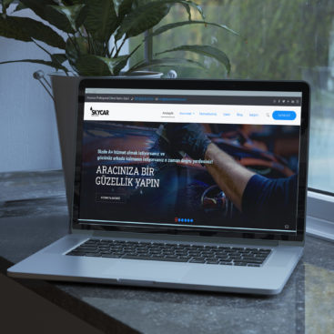 Skycar İstanbul Kurumsal Web Tasarım