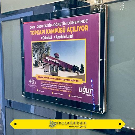 Asansör Pano Reklamları