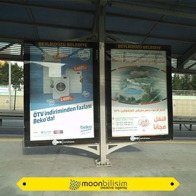 Metrobüs Reklam Çalışması